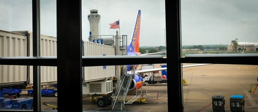 A photo of one of Southwest's terminals at AUS.